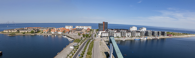 Ön år 2012. Bilden är tagen från toppen av en silo av Kjell Larsson.