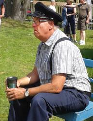 Chiefen Arne Sjöstedt