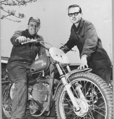 Göte Lindström och Ronnie Nerbring.