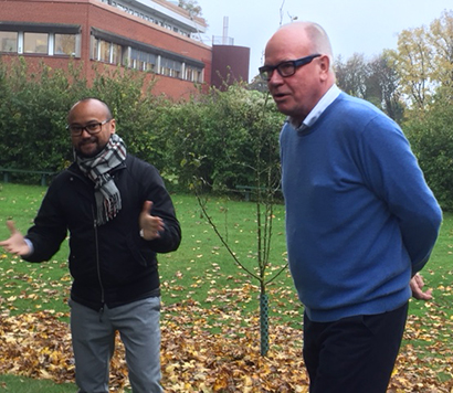 Tobias och Göran Olsson.