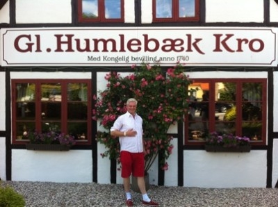 Lunch på Gamle Humlebäck Kro ser vi säkert fram emot.