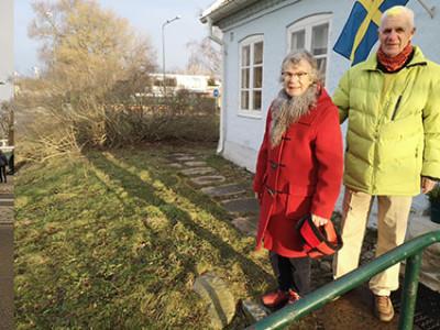 -Det var en mycket intressant promenad. Mycket nytt att lära sig tyckte   Ingrid Carlson och Lars-Erik Carlsson när de nöjda vände hemåt.