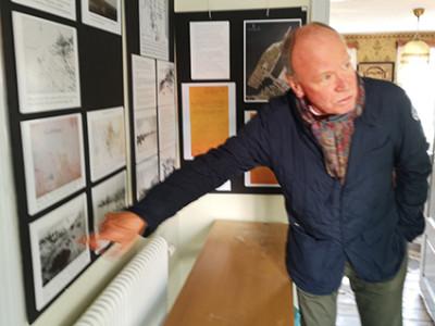 Göran Olsson visar utställningen den 28 april kl 13.30 och 15