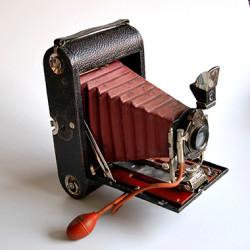 Edward Rosengrens kamera. FOTO; Sven-Olof Gunnarsson