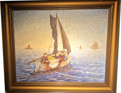 En målning gjord av Hjalmar Richthoff år 1938.